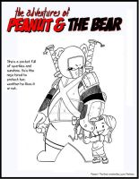 PEANUT AND THE BEAR by wonderfully-twisted