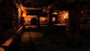 Dungeon Scene - UDK by spectravideo