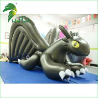 Inflatable Toothless Dragon by leonplushy