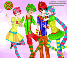 Alpha kids trickster mode by SimTinaAndr