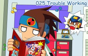 025 - Trouble Working by Kamira-Exe