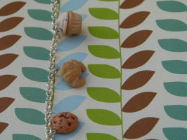 Polymer Clay Sweet Charm Bracelet by greencrazy1999