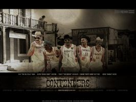 Houston Rockets the Contenders by Cotovelo