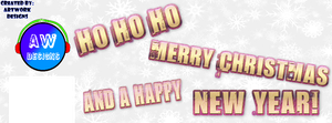 Christmas Facebook Cover by ArtWorkDesigns