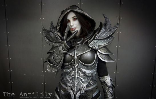 Daedric Armor - Melbourne Oz Comic Con 2016 by TheAnti-Lily