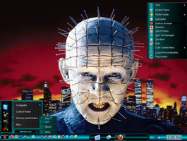 Win7 Basic Mode Theme - Hellraiser by PC2012