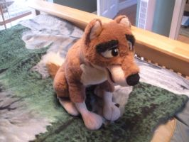 Balto Plush by CanineCanvas