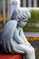 Angel In Thought by MysteryWoman101