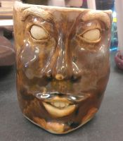 Completed Face Mug by Circumspecto