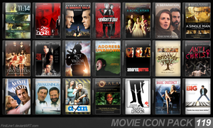 Movie Icon Pack 119 by FirstLine1