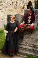 Medieval siblings by Zidra