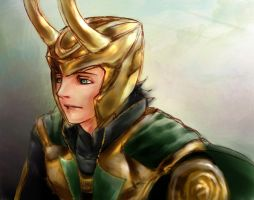 The Avengers - Loki by hatoribaka