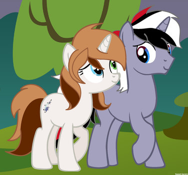 [AT] Dominica and lightning by Sweet-karem