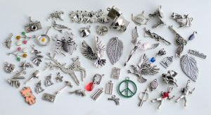 50 Charms FOR SALE by MonsterBrandCrafts