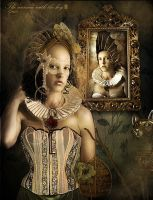 The woman with the key II by CindysArt