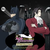 Ace Attourney Gotham City by Everleaf