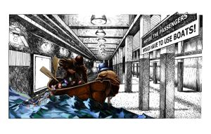 The Subway is flooding by mattwatier