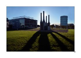 In the shadow of Battersea Power Station by thejamcascru