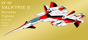 VF-2SS Valkyrie II as VF-20 as Jetfire [Fighter] by Grebo-Guru