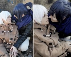Nezumi x Shion kiss 02 No.6 by LauzLanille
