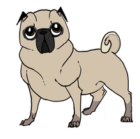 Soulful Pug by Uno-Duo