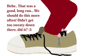 Kimberly's Tired Insole by TobyMcDee