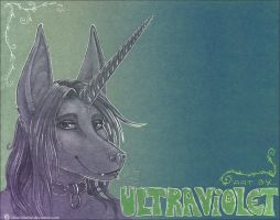 UV Portrait by ultravioletbat