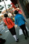 China and Japan Walking by Erin-Aru