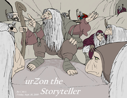 urZon the Storyteller by TheCiemgeCorner