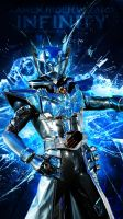 Kamen Rider Wizard Infinity iPhone5 Wallpaper Ver2 by Nac129