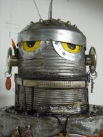 filthy Robot 2 by gibsart