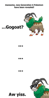 My First Reaction to Gogoat by Tayzonrai