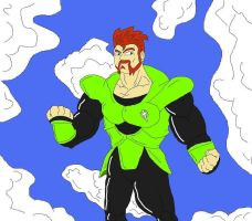 Sheamus as Android 16 by McGreger16