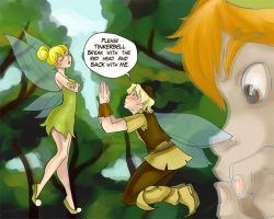 Tinkerbell and Terence by ToscanoRevenge