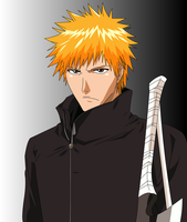 AT: Ichigo in trench coat :3 by Mifang