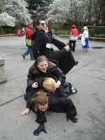 Sakura-Con '08 - Dog Pile by Bishonenrockmysocks