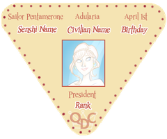 Queen's Daughters Rank 1: Badge by marie-berry
