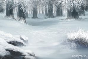 Snow Forest by teritori