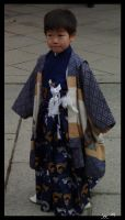 Kyoto boy wearing Kimono by The-Tabla-Engine