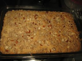 Streusel Coffee Cake by AbstractWater