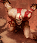 Kratos Sheen is Winning by Chiyoi-master