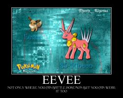 EEVEE by dusken-tears
