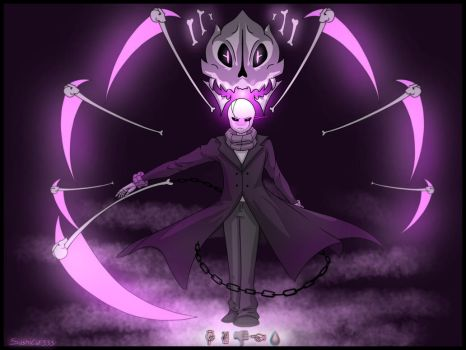 HADES- Gaster's special attack by Sushi-Cat333