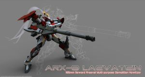 ARX-8 Rendered III by Illsteir