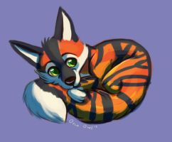 Tigerpup Mini by OrcaOwl