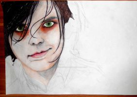 WIP - Gerard Way by FeelingsAreForbidden