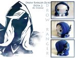 Drow Ranger Octo plush by ValkyriaCreations