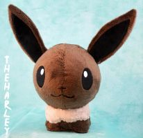 Eevee Pokedoll Plush by TheHarley