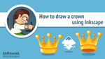 How to draw a crown in Inkscape by AhNinniah