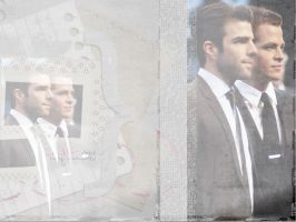 Zachary Quinto Chris Pine 2 by gabiellalili